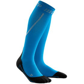 cep Winter Run Socks Men electric blue/black